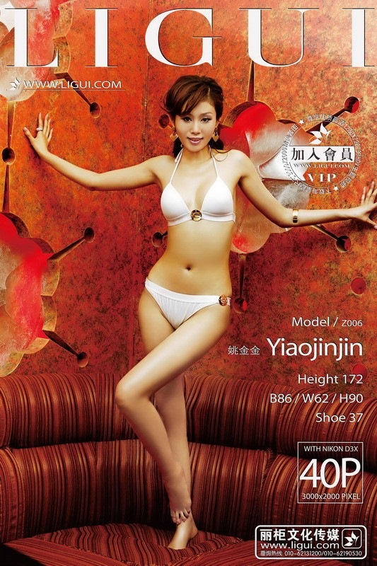 [Ligui丽柜]2013.07.11 Model 姚金金[40+1P/37.1M]